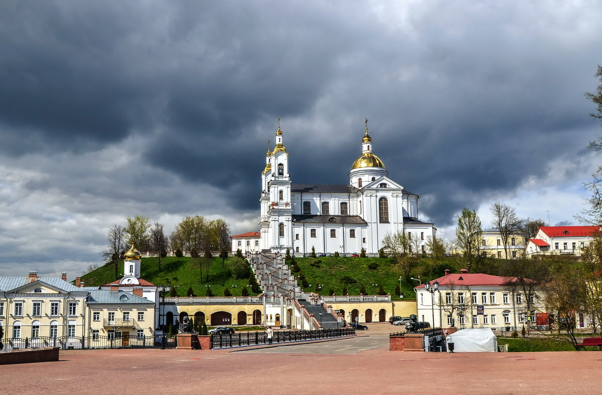 Свято-Успенский кафедральный собор в Витебске - Ирина Никифорова