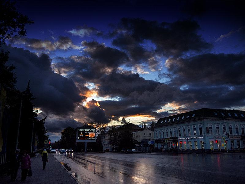 Последние отблески заката - Виталий Павлов