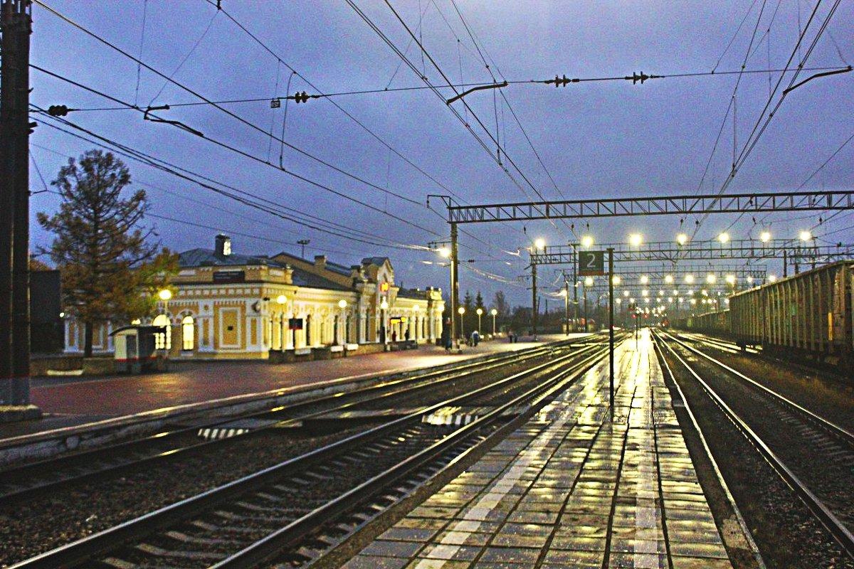На железной дороге - Сергей Кочнев