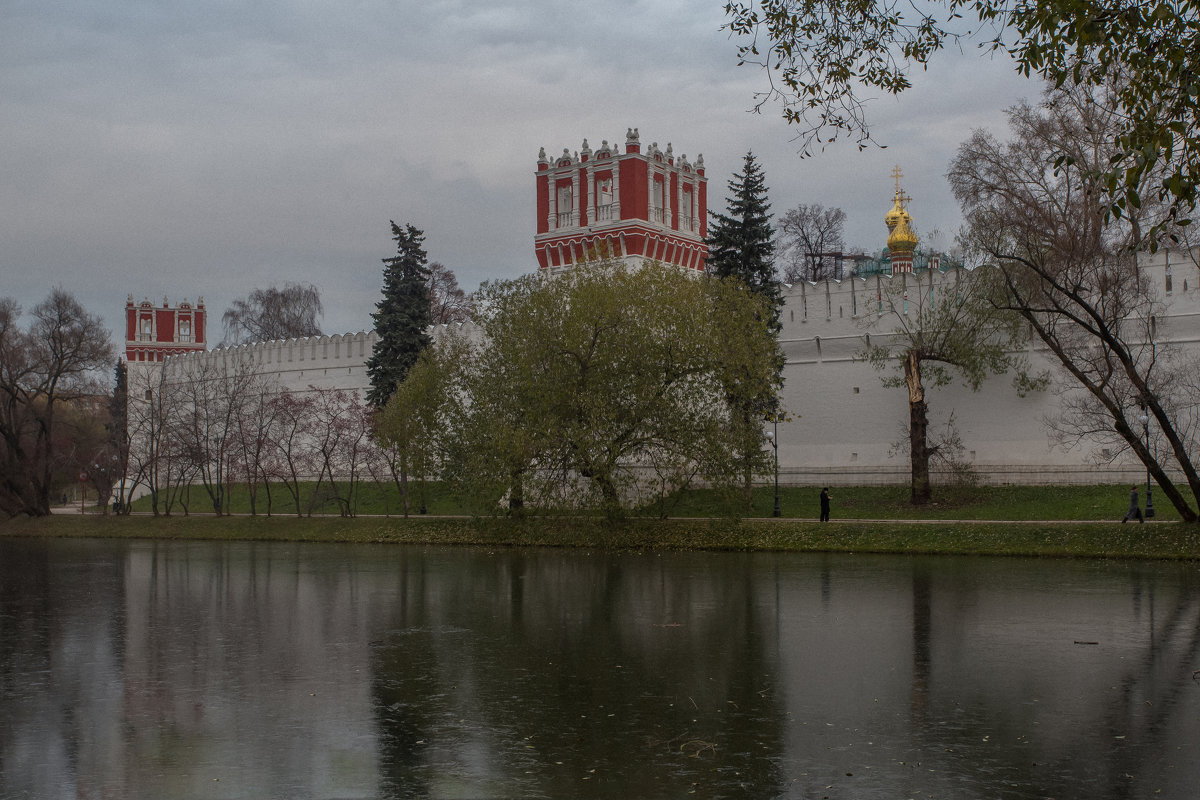 Тонкий лед у Новодевичьего.. - Александра
