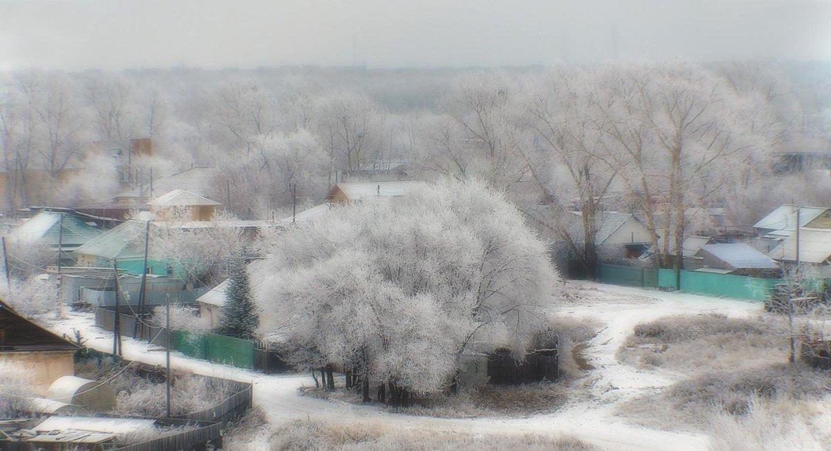 Первый снег. - Виктор Иванович