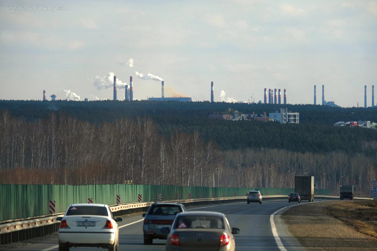 большие города видны издалека - StudioRAK Ragozin Alexey