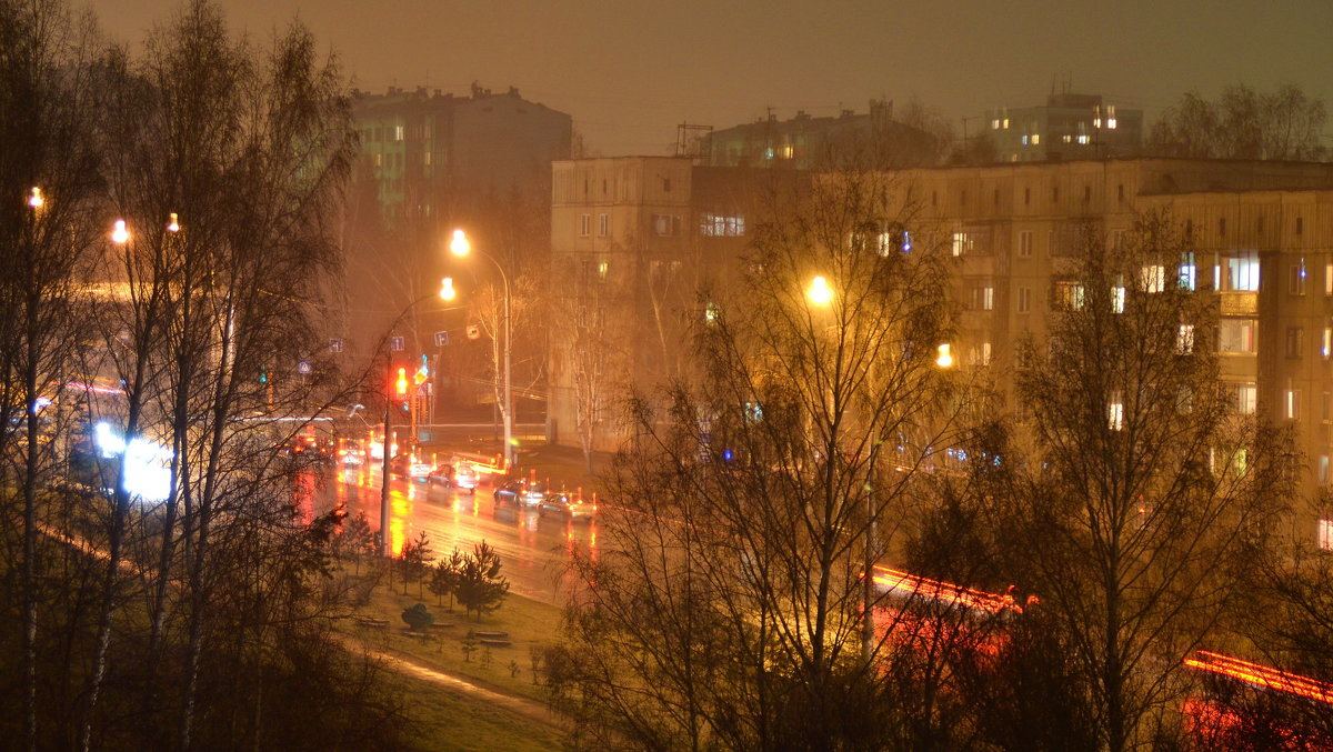 осенний дождь - Евгений Фролов