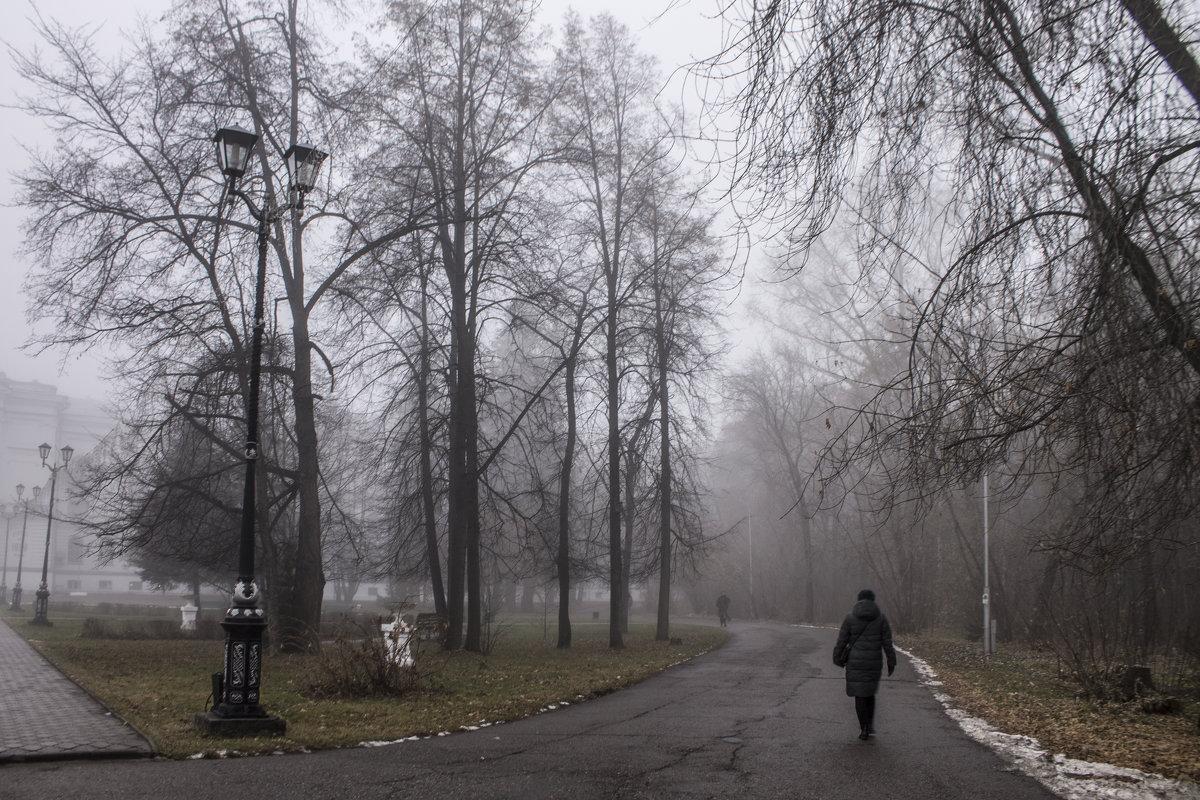 Туманное утро. - Ирина
