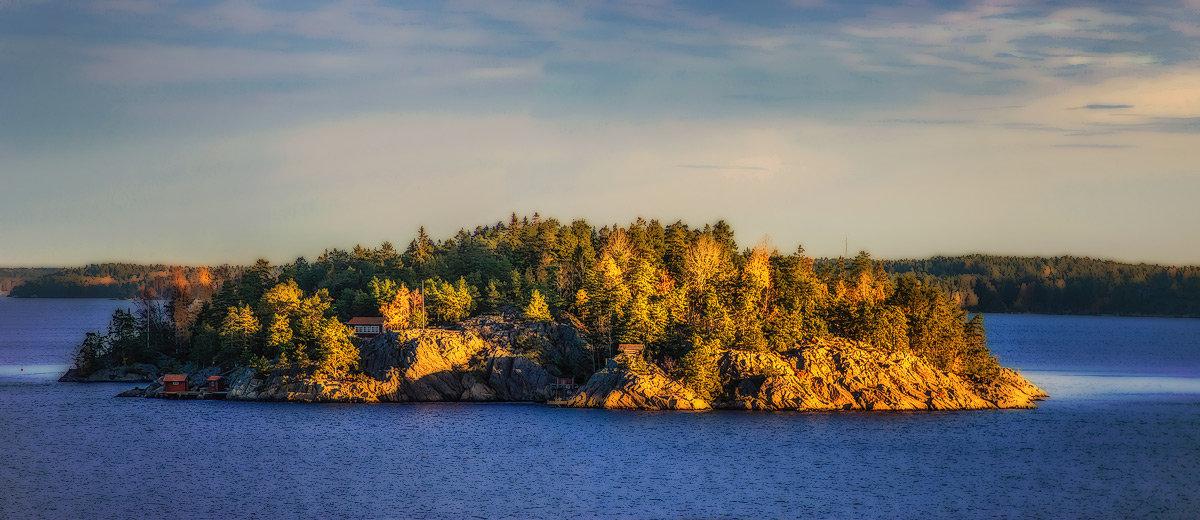 Шведские островки. - Lidija Abeltinja