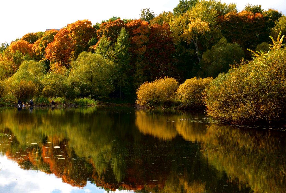 Взглянула Осень в зеркало пруда... - Ольга Русанова (olg-rusanowa2010)