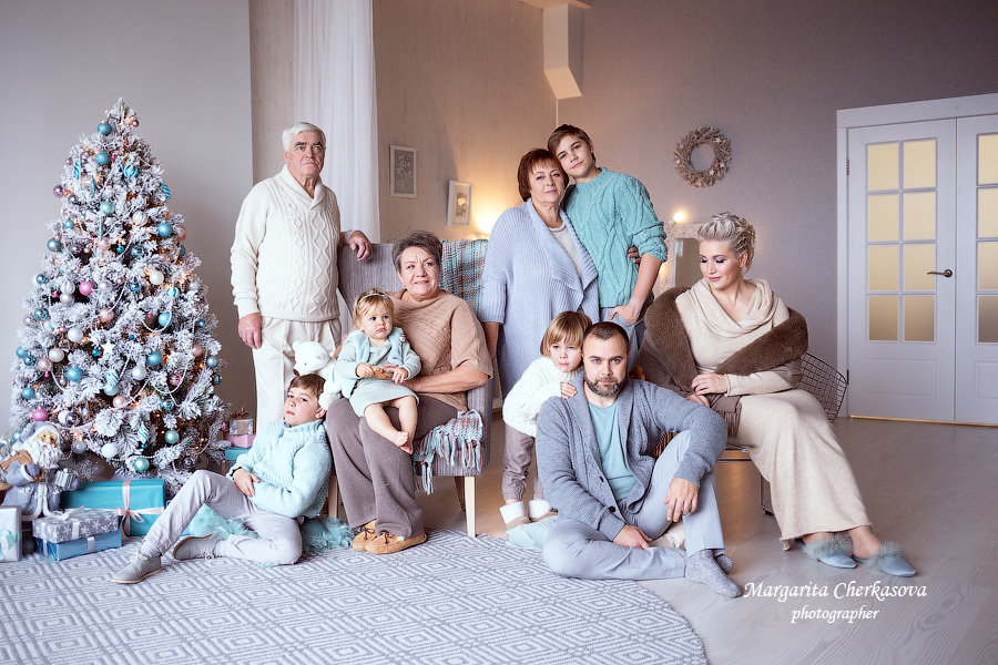 Семья - Маргарита Черкасова