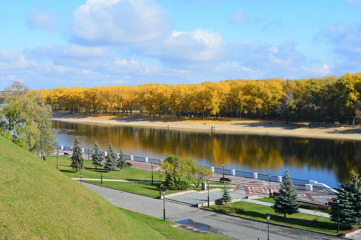 Золотая осень в Гомельском парке - Юлия Кузнецова