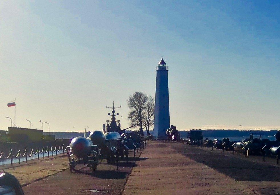 маяк в Кронштадте - Елена