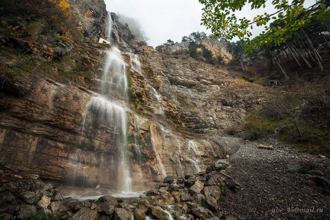 Водопад Учан-Су в октябре - Николай Ковтун