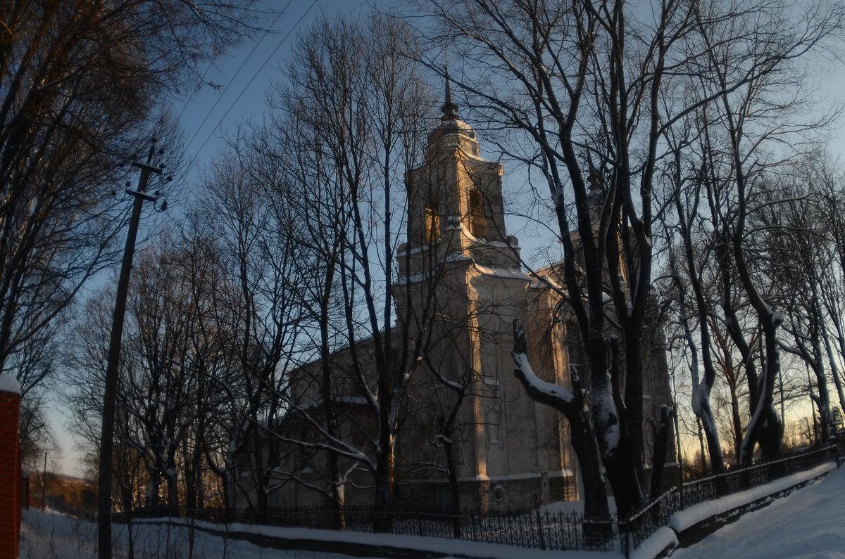 Любавичи, церковь Успения Пресвятой Богородицы 1725-1775гг - Aleksandr Ivanov67 Иванов