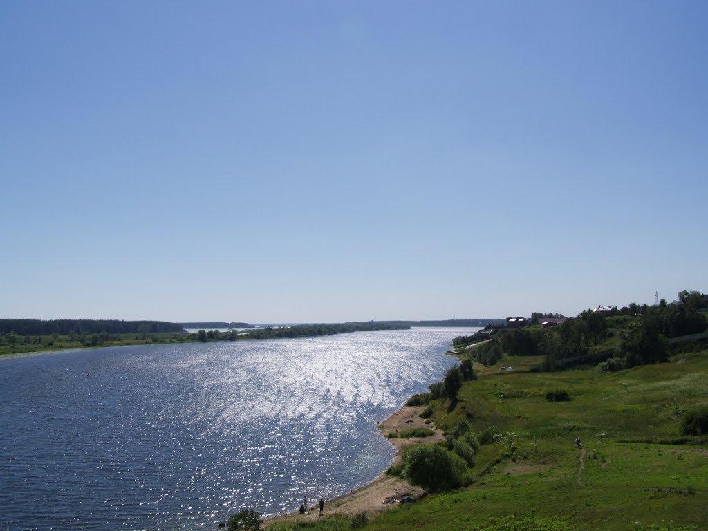 Волга (по течению) - Анна Воробьева