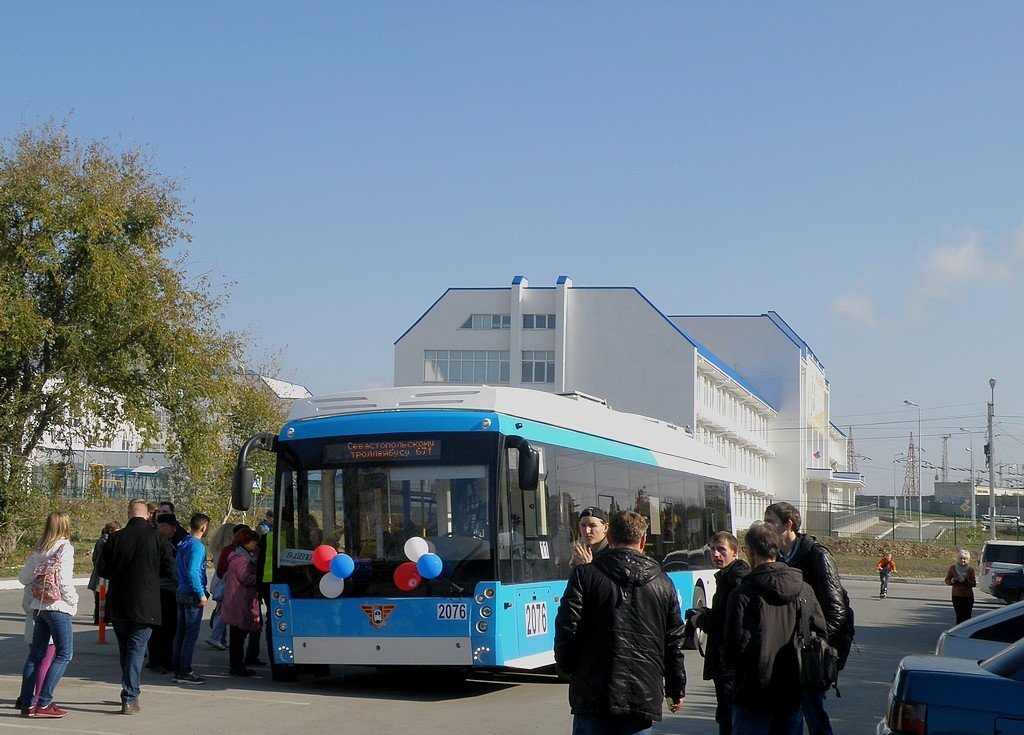Новый троллейбус, новая школа! - Александр Рыжов