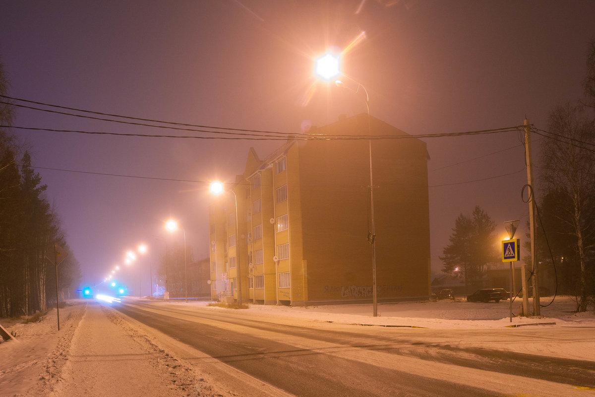 Затерянный в зимнем тумане - Дмитрий Костоусов