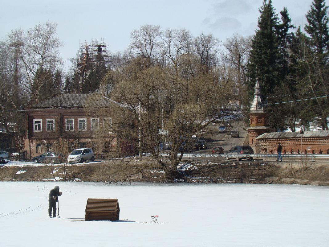 На Келарском пруду - Елена Строганова