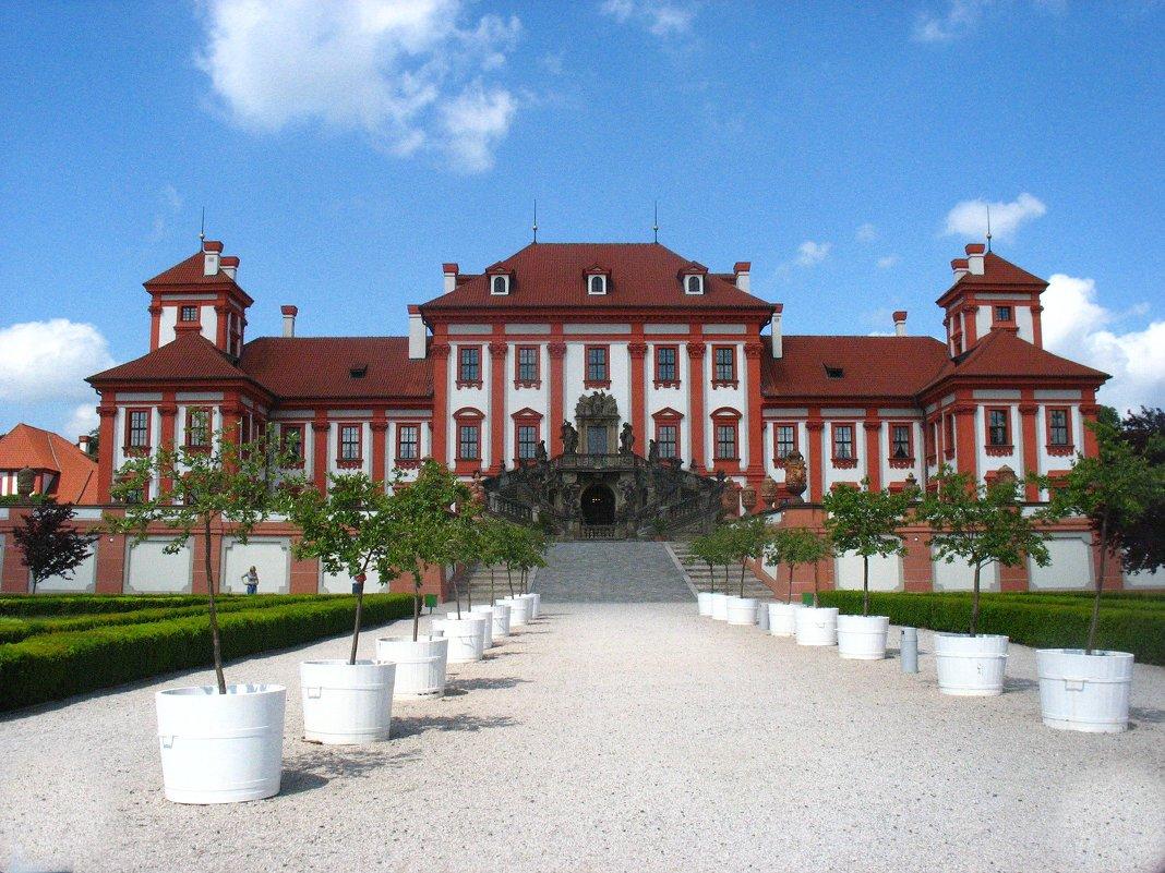 Тройский замок – это первый летний загородный дворец в северной части Праги - Елена Павлова (Смолова)
