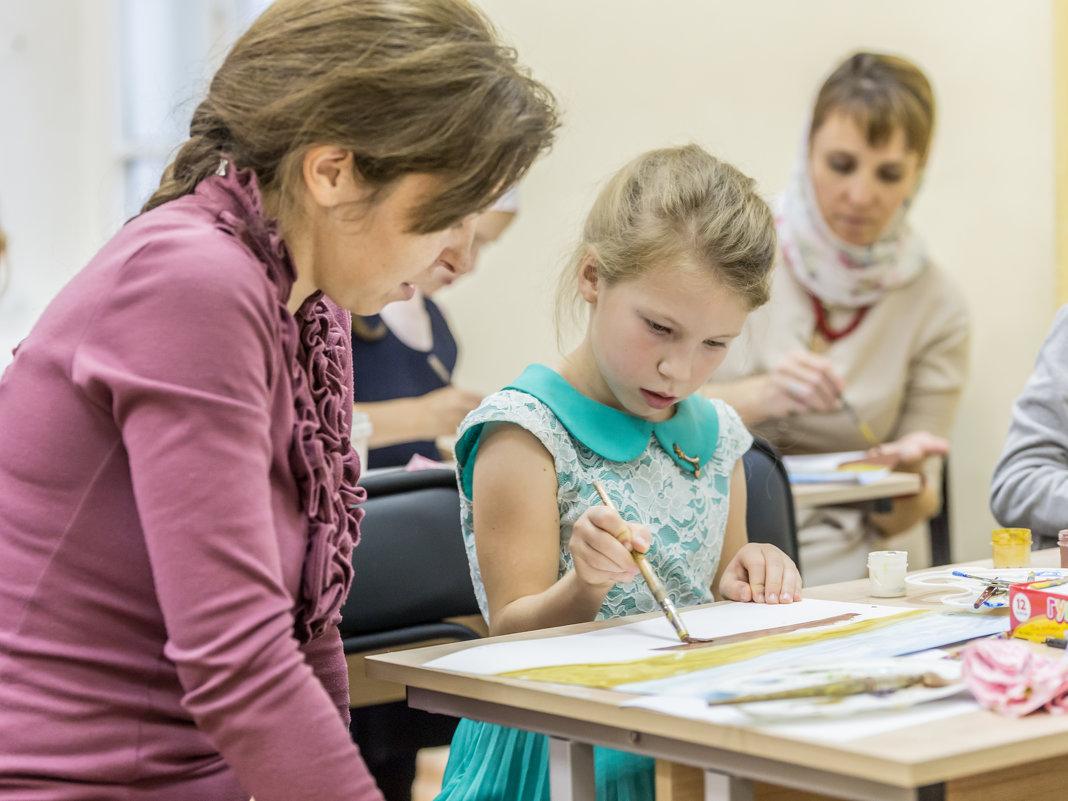 Урок художественного творчества в Воскресной школе - Олег Лунин