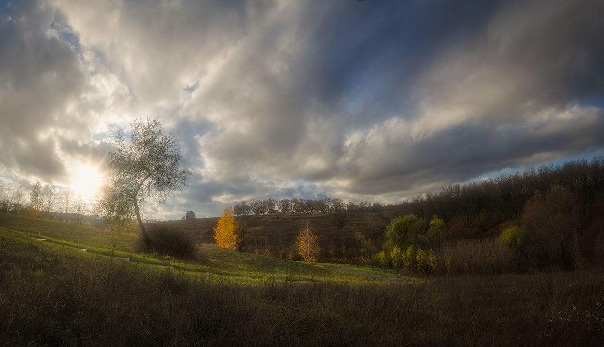 Уходит  осень…медленно, красиво… оставив напоследок – тихий  вздох… - Лидия Цапко