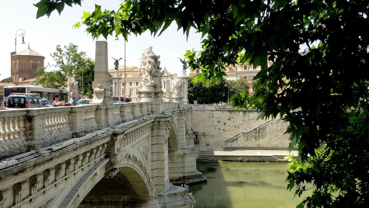 Мост Витторио Эмануэле II (Ponte Vittorio Emanuele II) - Елена Павлова (Смолова)