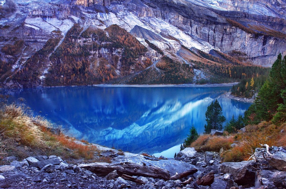 Когда осень в горах, слишком много всего... - Elena Wymann