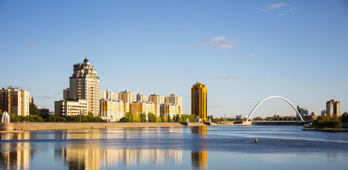 Астана. Набережная - Sergey Prussakov