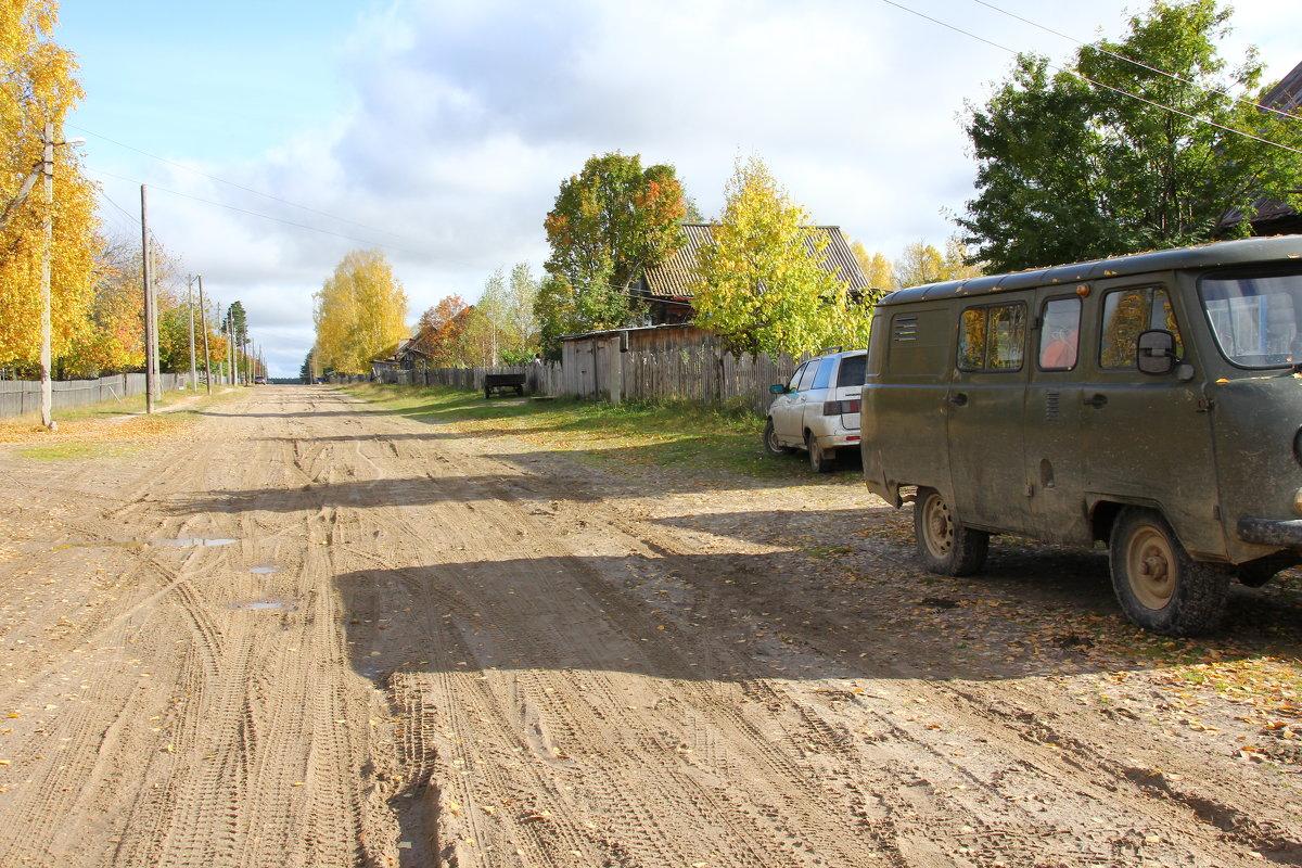 Улица в лесном поселке... - Александр Широнин