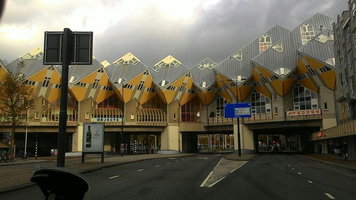 Роттердам, кубические дома - IURII