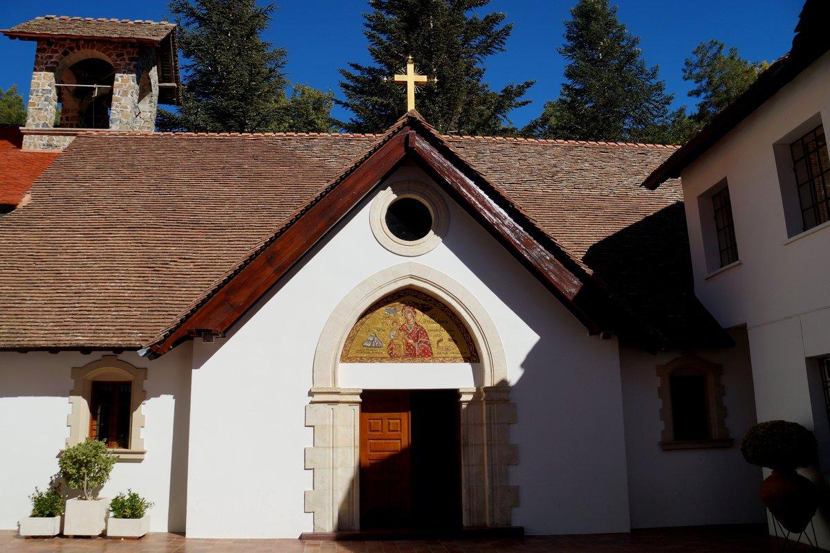 Мужской монастырь Богородицы Троодитисса.... - Наталья Меркулова