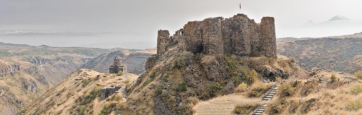 Крепость Амберд - Ирина Шарапова