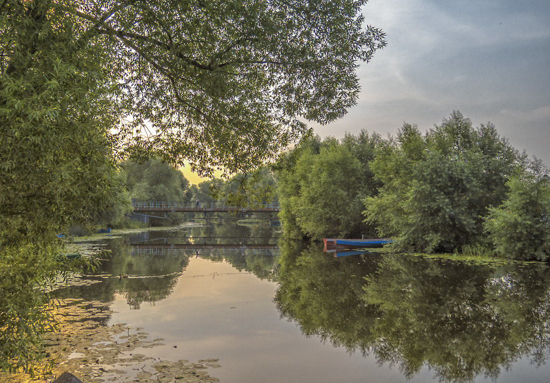 Утро на реке Трубеж - Сергей Цветков