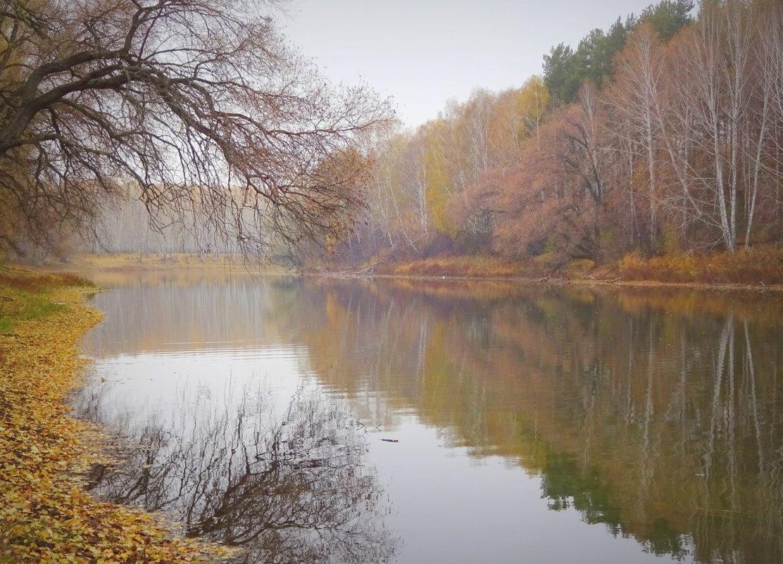 Упивается от неги тишиной своей река... - Елена Ярова