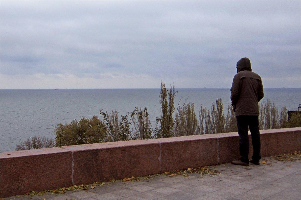 Серое море, серое небо... - Людмила
