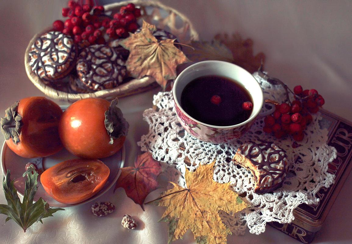 Осень кофе на завтрак варила… как божественно плыл аромат! Чтобы грусть от души отступила, добавляла - ALISA LISA