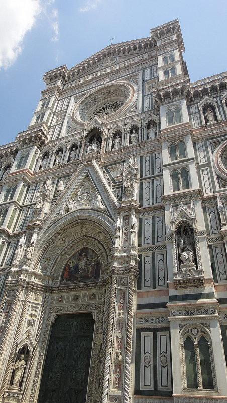 Кафедральный собор Санта Мария дель Фьоре - Фасад собора - Елена Павлова (Смолова)
