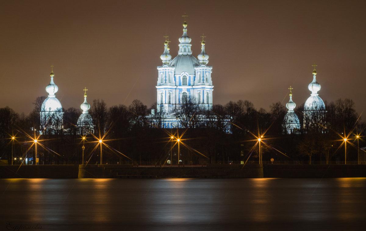 Смольный собор в ноябре - Iulia Efremova