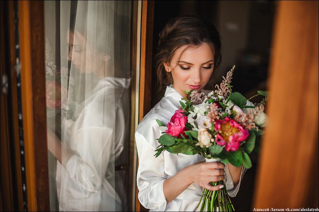 Утренние сборы - моя любимая часть свадебной фотосессии! - Алексей Латыш