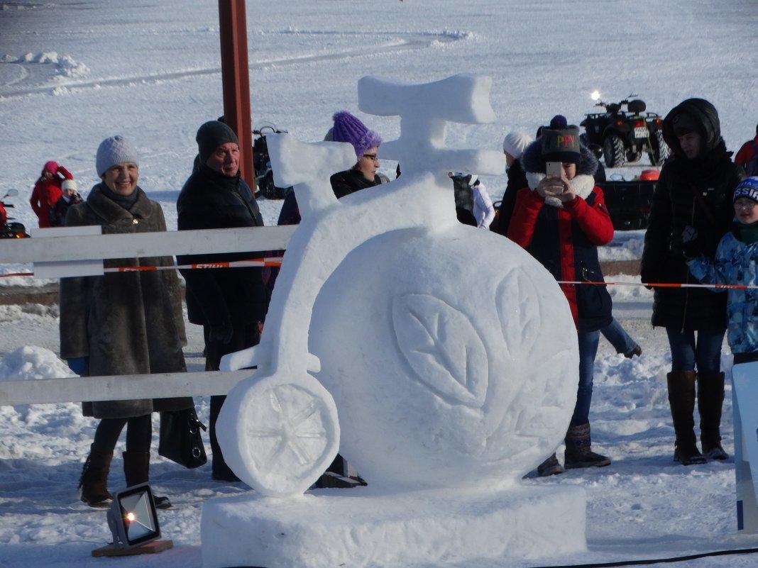 Фестиваль леденых и снежных скульптур Гиперборея - Андрей