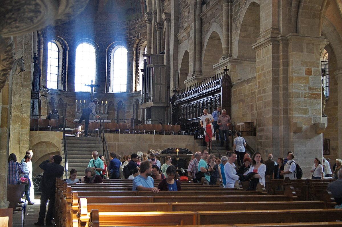Восточный хор(Собор в Бамберге) - irina Schwarzer