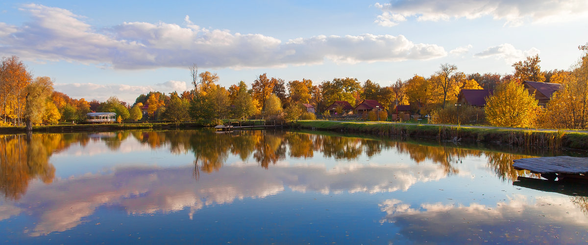 Осенняя панорама - Владимир
