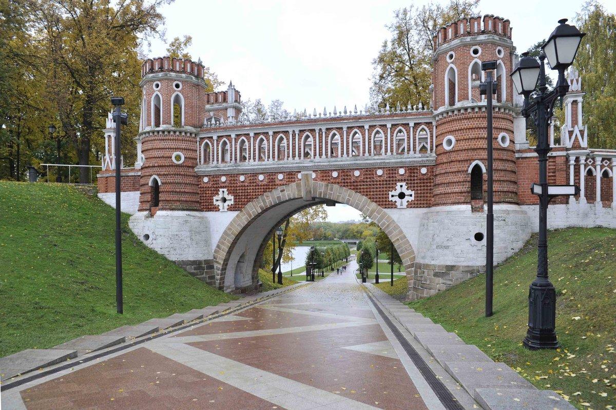 Царицино, мост в парке 2 - Вячеслав