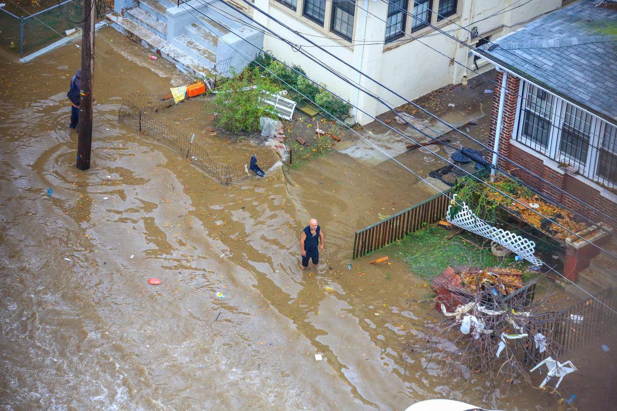 утром после урагана Сэнди - Naum