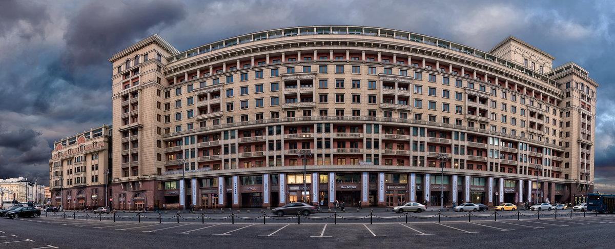 Гостиница Москва. Северный фасад - Alexsei Melnikov