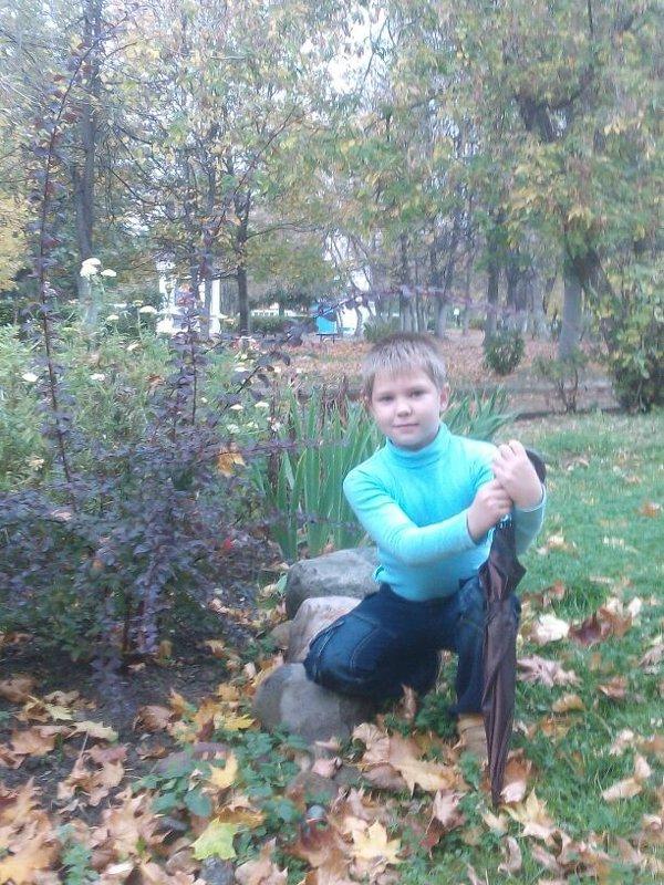 Алексей с зонтиком - Анна