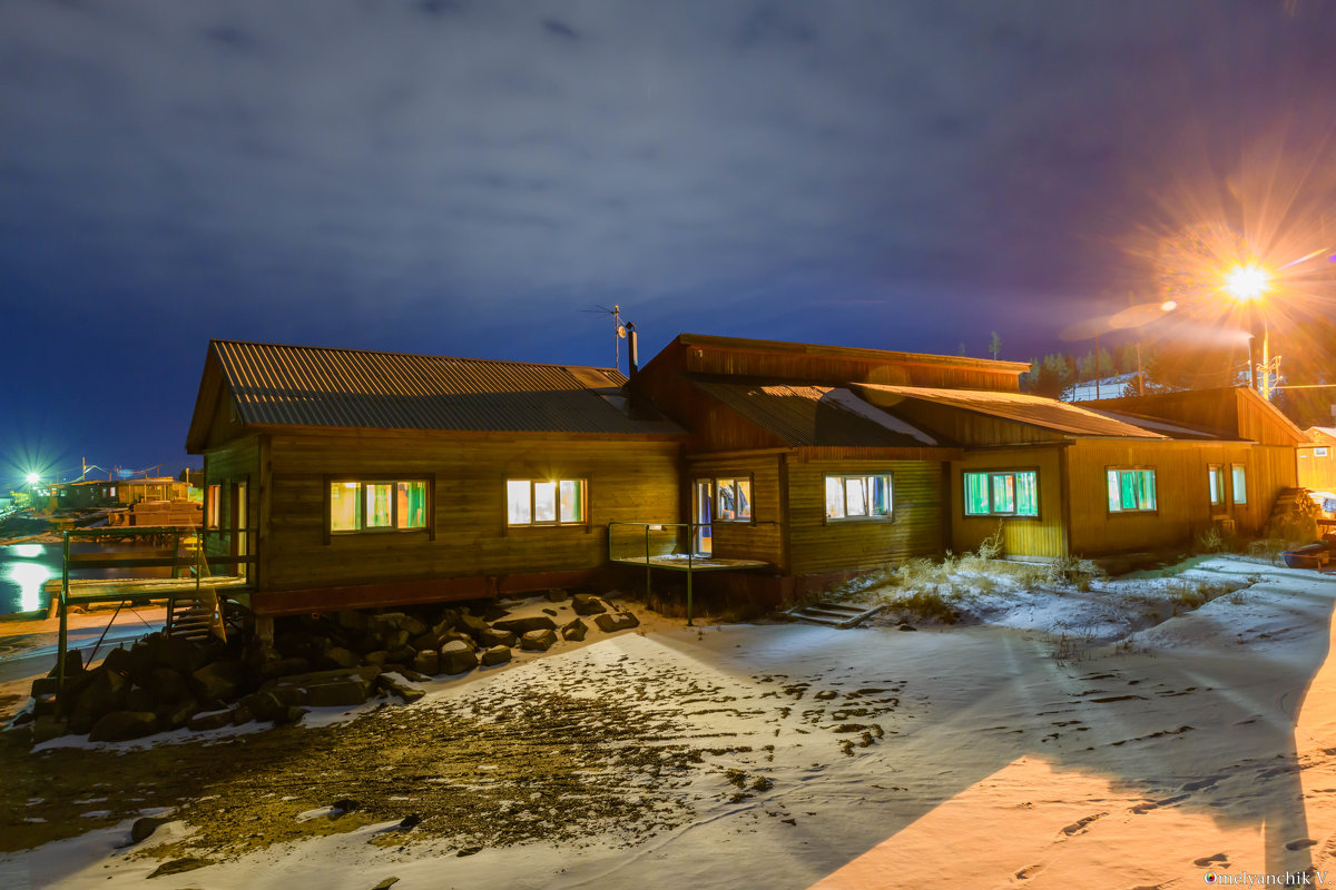 Зимняя ночь - Вячеслав Омельянчик