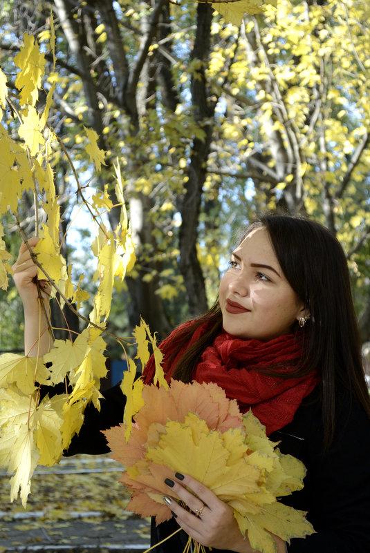 Осенний поpтpет - Анастасия Фомина