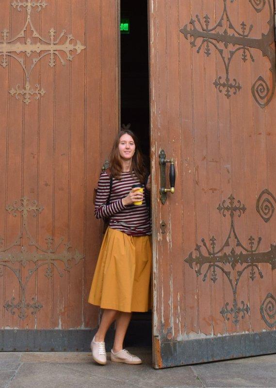 Девочка и большая дверь - Марина Богданова