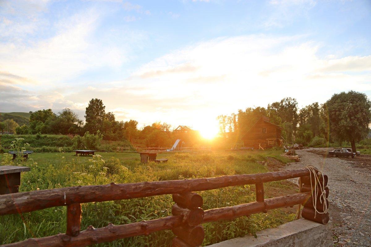Закат на Алтае - ДмитрийМ Меньшиков