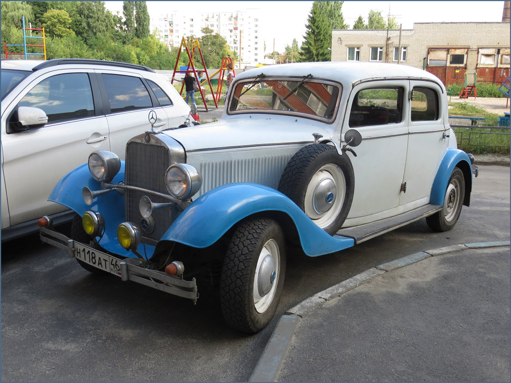 Mercedes-Benz W 21, 1936г. - Владимир Прокопов