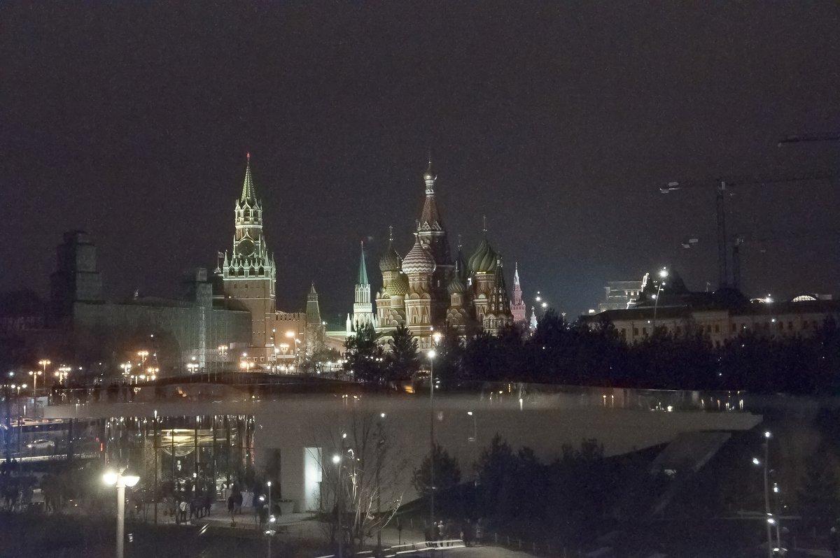 Москва вечерняя - marmorozov Морозова