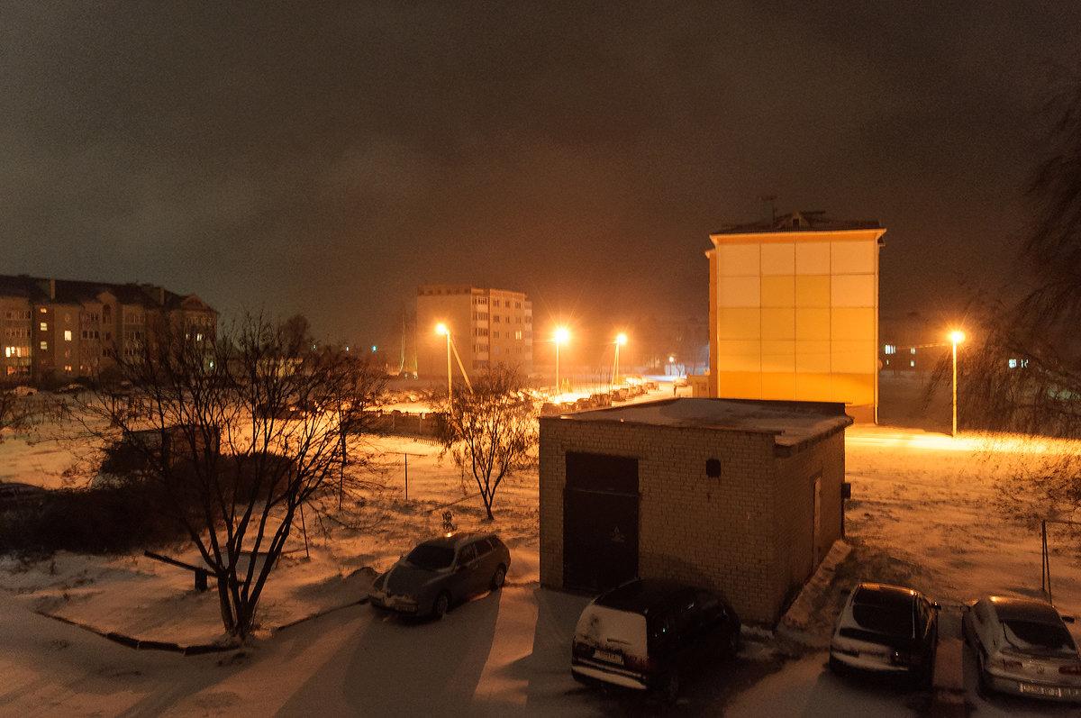 Зима подкралась ночью незаметно И всё в округе снегом замела.....................26.10.2017    6-22 - Анатолий Клепешнёв